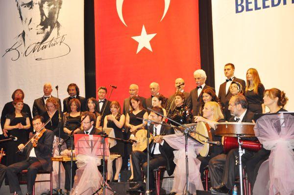 İSMEK kursiyerlerinden muhteşem konser