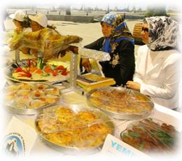 Yöresel lezzetler Beykoz'da yarıştı
