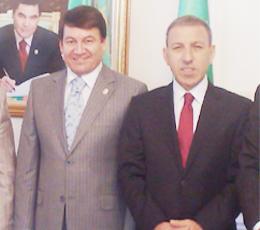 Ergül'den Büyükelçi ziyareti