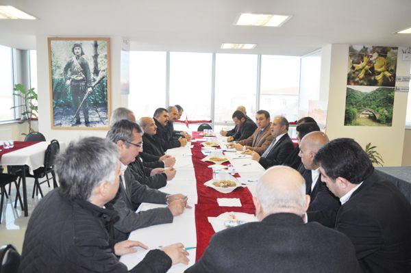 Erdoğan Dernekler Birliği'ne konuk oldu