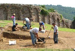 Yoros'ta kazı çalışmaları sürüyor…
