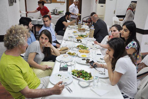 Doğu Karadenizlilerin yemek ziyafeti