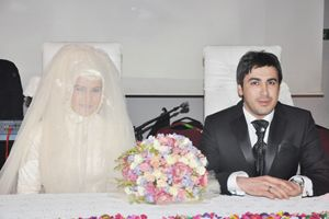 Ersin Sönmez & Zeynep Durgut evlendi