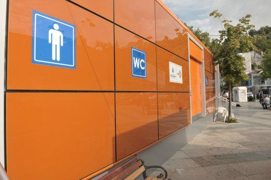 Tuvalete İstanbulkart'la girilecek