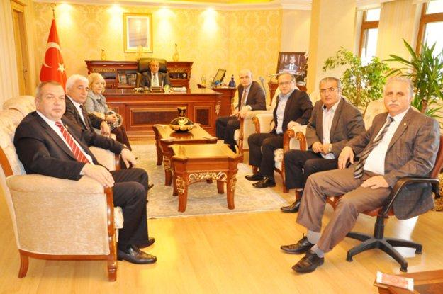 Giresun Derneği'nden Erdoğan'a ziyaret