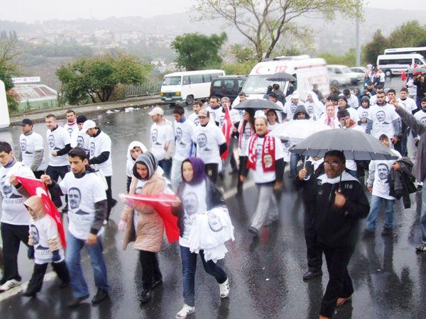 Maraton'da Yazıcıoğlu unutulmadı