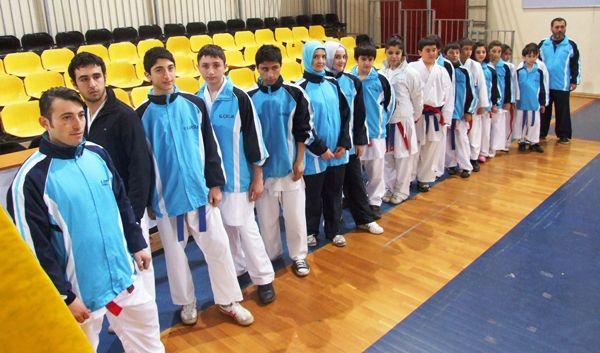 Beykoz'un karatecileri heyecanlı