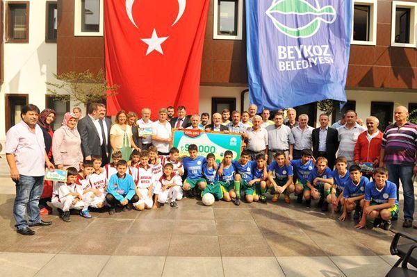 Amatör Spor Kulüpleri'ne destek sürüyor
