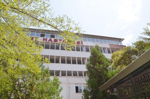 Devlet Hastanesi'nde 2. etap tadilat başladı