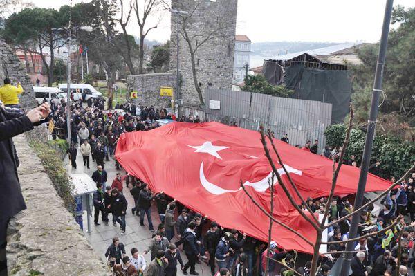 Anadoluhisarı'nda büyük protesto