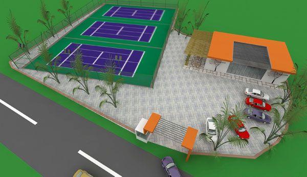 Beykoz teniscilerine muhteşem tesis