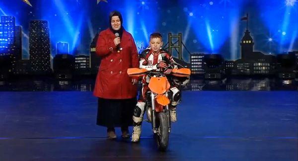 On yaşında Beykoz'un gururu oldu