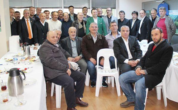 Kulüpler Birliği Aydın Ergün'ü konuk etti