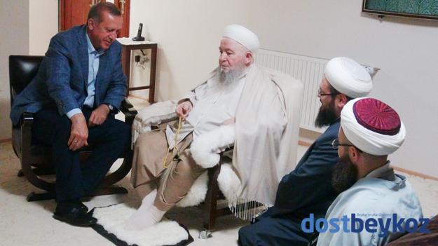 Erdoğan'dan Beykoz'da anlamlı ziyaret