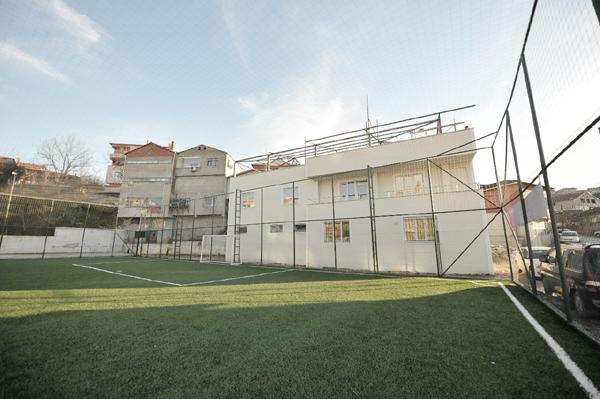 Beykoz'a yepyeni bir spor tesisi