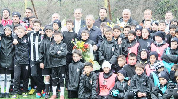 BJK Beykoz Futbol Okulu 8 yaşında