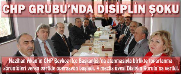 CHP Meclis Grubu'nda disiplin şoku