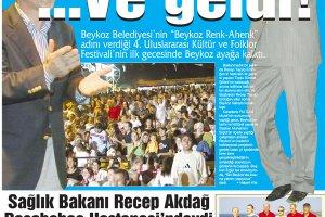 Dost Beykoz Gazetesi Ağustos 2005... 8. Sayı