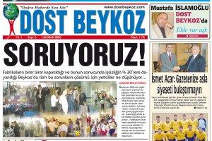 Dost Beykoz Gazetesi Haziran 2005... 6. Sayı