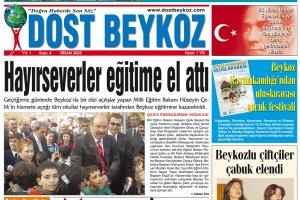 Dost Beykoz Gazetesi Nisan 2005... 4. Sayı