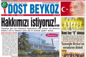 Dost Beykoz Gazetesi Mayıs 2005... 5. Sayı