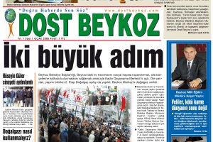 Dost Beykoz Gazetesi Ocak 2005... 1. Sayı
