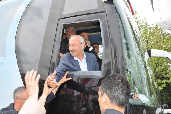 Beykoz'dan Kemal Kılıçdaroğlu geçti