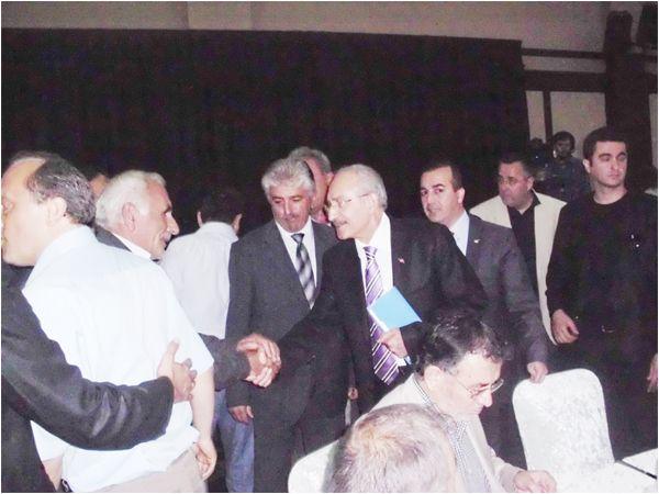 Beykoz Muhtarları Kılıçdaroğlu ile görüştü