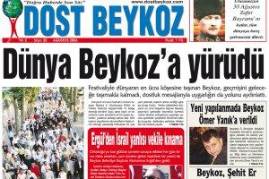 Dost Beykoz Gazetesi Ağustos 2006... 20. Sayı