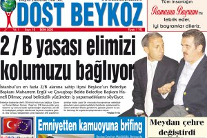 Dost Beykoz Gazetesi Ekim 2005... 10. Sayı