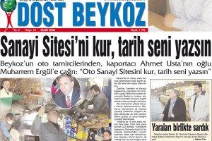 Dost Beykoz Gazetesi Mart 2006... 15. Sayı
