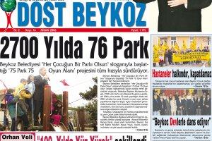 Dost Beykoz Gazetesi Nisan 2006... 16. Sayı