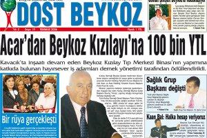 Dost Beykoz Gazetesi Temmuz 2006... 19. Sayı