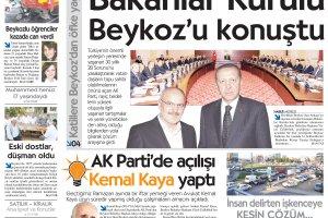 Dost Beykoz Gazetesi Ağustos 2013/2... 117. Sayı