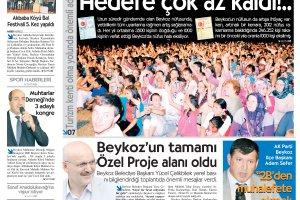 Dost Beykoz Gazetesi Ekim 2013/1... 120. Sayı