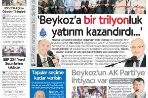 Dost Beykoz Gazetesi Eylül 2013/2... 119. Sayı