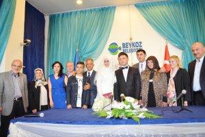 Beykoz'un Fahri Muhtarı evlendi