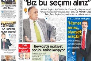 Dost Beykoz Gazetesi Kasım 2013/2... 123. Sayı