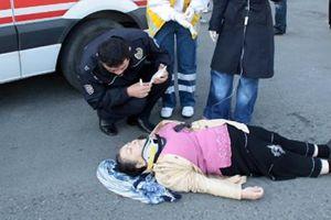Sabah sporunda trafik kazası