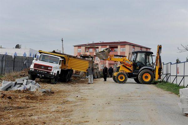 Beykoz'da ulaşım yatırımları sürüyor