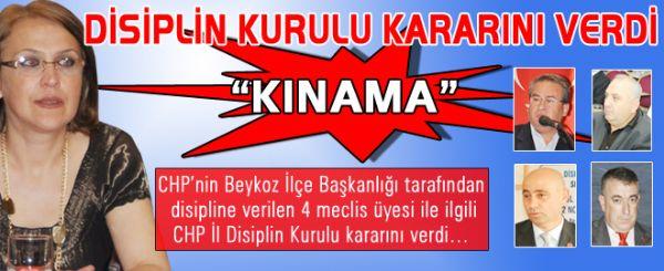 CHP'de beklenen karar: 'Kınama'