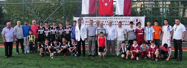 Furkan Boylu'nun şampiyonu Vakıftepe