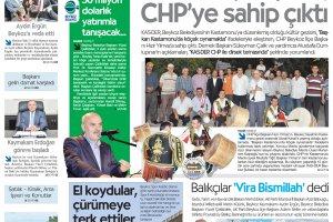 Dost Beykoz Gazetesi Eylül 2012.. 95. Sayı