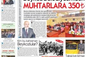 Dost Beykoz Gazetesi Mart 2013/2... 107. Sayı