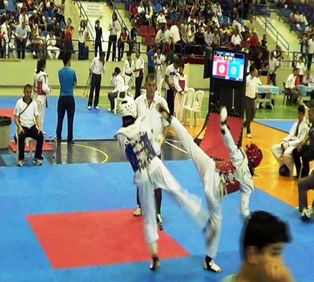 Berranur Çiftçi, Tekvando da İstanbul Şampiyonu oldu