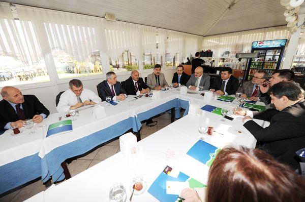 Başkan, İl Genel Meclisi üyelerini ağırladı