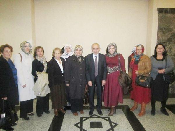AK Partili kadınlar Ankara'ya ısınıyor…