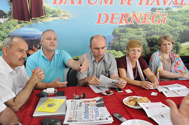 Gürcü Bilim Heyeti Beykoz'da...