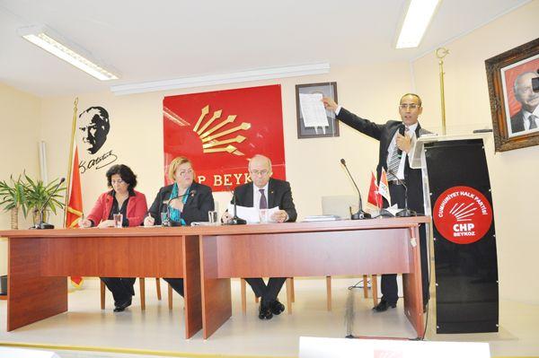 Beykoz'da CHP gündemi allak bullak