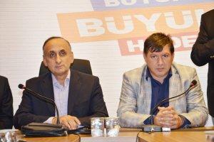 Batu'ya AK Parti'de sıcak karşılama